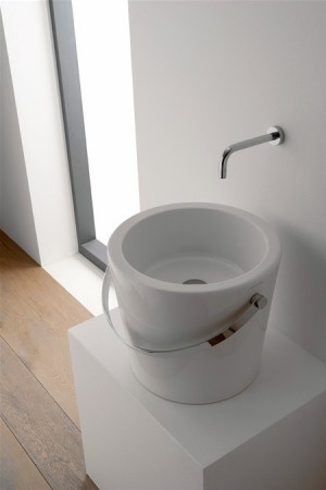 Lavabo bucket Scarabeo 07 apoyo