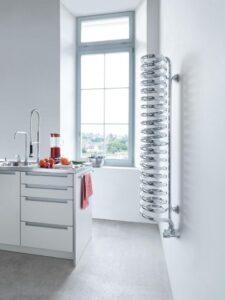 radiador espiral spirale acero moderno toallero