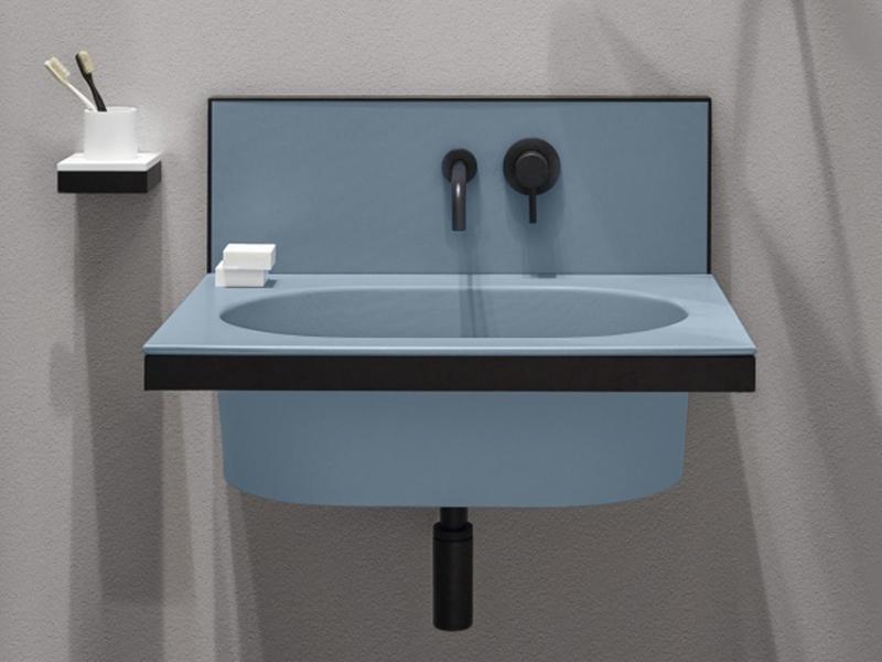 lavabo clasico color azul