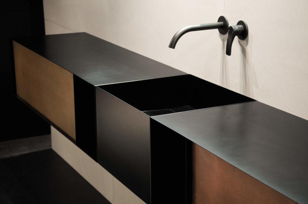 Mueble lavabo industrial