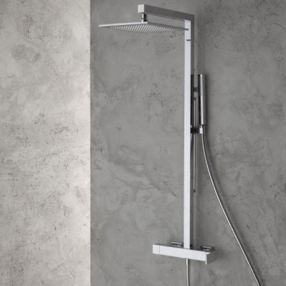 Columna de ducha con rociador